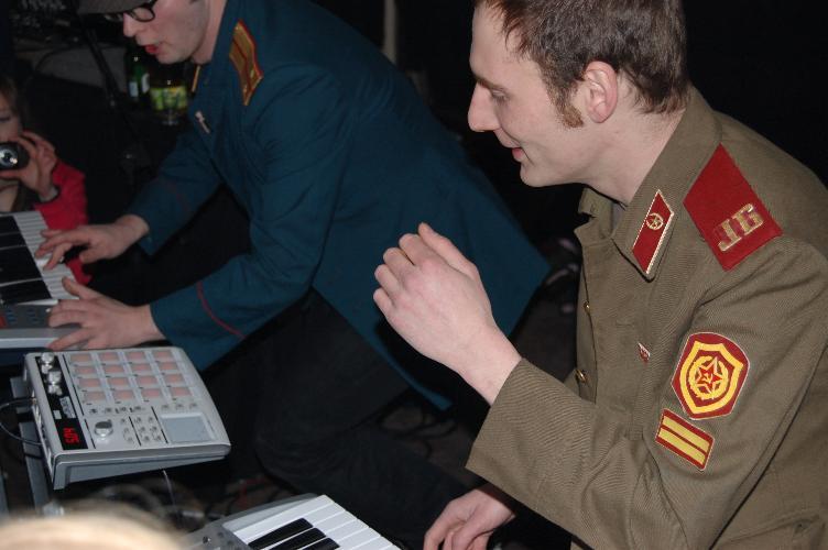 Die Juri Gagarins ziemlich nüchtern